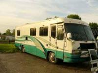 We have a 00 Cruise Master Diesel Pusher camper for