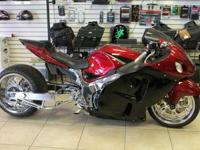 DONT LOSE OUT ON THIS CUSTOM HAYABUSA , ITS READY FOR