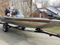For Sale is an Excellent condition 2009 Bass Tracker