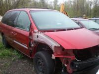 01 Caravan PARTS ONLY Engine and Transmission gone Call