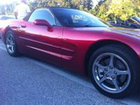 Looking for an '01 convertible Chevy Corvette? Well,