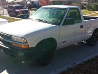 2001 chevy/chevrolet s10 106xxx miles not 4x4,4cyl,3
