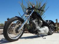 2001 Custom Softail Harley Davidson built by Electric