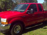 2001 FORD F250 SUPER DUTY MILEAGE 107,000 BEDLINER