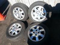 01 Honda Accord Stock Rims/tires   $1