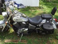 I am parting with my 2001 Honda Shadow Ace Deluxe 750.
