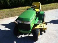 Used 2001 John Deer lawnmower for sale. $750. Good