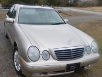 01 Mecedes Benz e320 4matic. Has been well maintained &