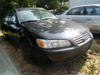 We have just recently received this Black 2001 Toyota