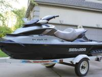 010 Seadoo GTX 260 Limited only 63 hours of use