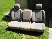 02 03 04 05 DODGE RAM TRUCK 1500 FRONT GREY SEATS CLOTH