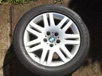 selling a set of original factory bmw wheels and tires