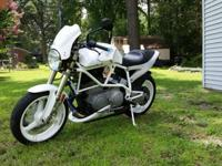 2002 Buell X1 White Lightning with 15,600 miles. It