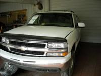 Parting Out A 2002 Chevy Tahoe 4x4 White Tan Leather