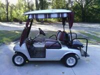 02 club car golf cart, new Trojan batteries, 48 volt,