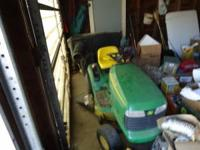 I have a JD lt150, 15hp, hydrostat trans. Very clean,