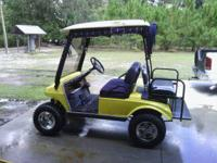 02 club car, new batteries, lights, turn signals, brake