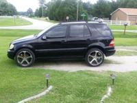 I have for sale a '02 Mercedes Benz ML320 SUV AWD(All