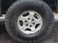 I've a stock group of 2002 chevy silverado wheels on