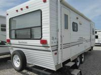 2002 Sportsmen 2604 P  Rear living room with couch/