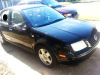 2002 Volkswagen Jetta TDI, turbo-diesel, GLS trim.