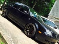 Leather, sunroof, all power, hid lights, lowered, 18""