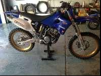 This is a 02 yz 250f in good shape. It has hot cams so