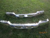 03-06 GMC Sierra pick-up front bumper and spoiler. 2