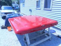 03-06 Chevy team cab 5.5 bed lid ARE Red. All hardware
