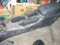03 Chevy Cavalier Center Console with lid. Grey in