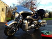 Excellent condition - only 3,096 miles. Tons of chrome