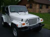 03 JEEP WRANGLER SPORT 4WD HARD TOP, 4.0 L 6CYL AUTO.