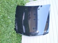 03-07 Cadillac CTS CTS-V Hood with Trim BLACK RARE OEM