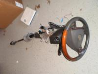 03-07 Cadillac CTS OEM Steering Column Wood Grain Wheel