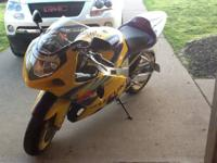 "I have a ""2003"" 40th Anniversary GSXR 600. It has 15xxx"