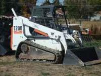 This is in great shape with 1300 hrs. Bobcat of the