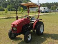 A well maintained 2003 Farm Pro tractor with only 52
