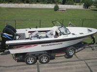 '04 Warrior 21-21 DC with twin (counter-rotating)150hp