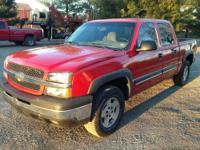 I have a 2004 Chevrolet 1500 Crew Cab Z-71. Many great