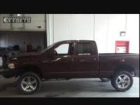 Make: Dodge Year: 2004 VIN Number: 150000 Condition: