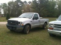 This is a silver 04 ford f350 regular cab, not dually,