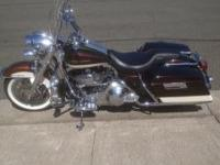 one owner 2004 Harley Davidson Road King. Under 18K