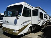 Used Tiffin Phaeton diesel RV, Weather Pro power