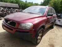We have simply gotten this Ruby Red Metallic 2004 Volvo