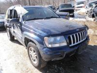 We have actually just recently received this 2004 Jeep