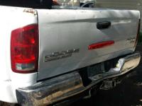 2004 dodge ram 3500 dually box  with taillights and