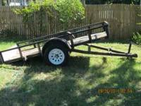 I'm selling my 2005- 5x10 tilt Utility Trailer, it's in
