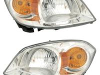 05-10 Chevy Cobalt Headlight Headlamp w/Chrome Housing