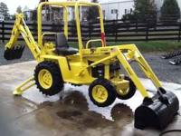 2005 TERRAMITE T5C BACKHOE....NEW 20 HP HONDA