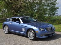 2005 Chrysler Crossfire SRT-6. Aero Blue Pearl Coat